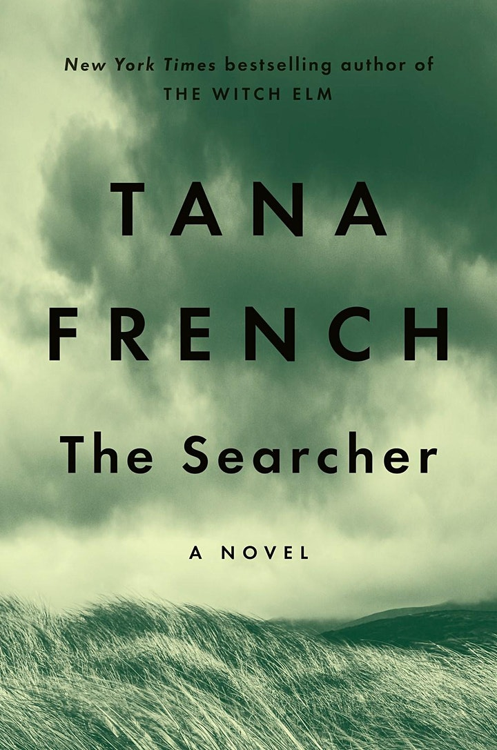 """Mysteries to Die For Book Club """"The Searcher"""" by Tana French image"""