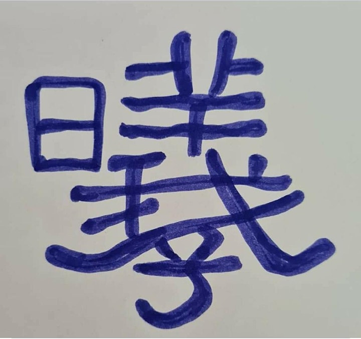 Chinese calligraphy HARDEST WORDS + SIMPLE drawing (6 online lessons) image