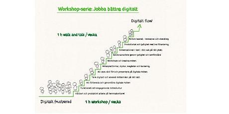 Jobba bättre digitalt!   Workshop-serie med Anna Malmsten & Peter Bjellerup biljetter