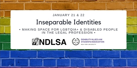 Inseparable Identities: Making Space for LGBTQIA and Disabled Lawyers. tickets