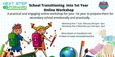 6th Class School Transitioning from Primary to Secondary School Workshop tickets