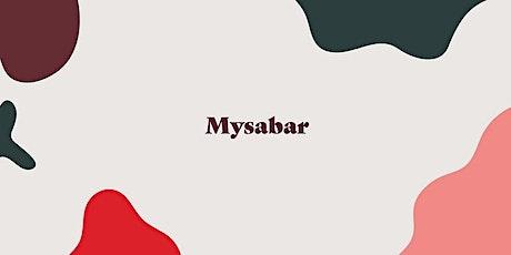 Mysabar Sat 16th Jan - 4pm tickets