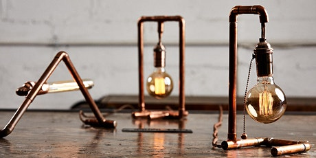 Build a Custom Copper Lamp (Introduction to Copper Creations) tickets