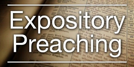 Expository Preaching Master Class tickets