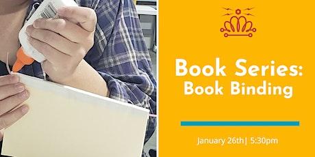 Book-Making Series: Book Binding tickets