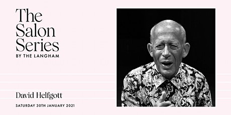 The  Salon Series by The Langham with David Helfgott tickets