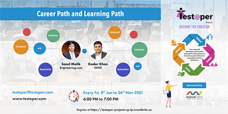 Projects (Opensource) -Career Path and Learning Path starts on 8 Jan 2021 tickets