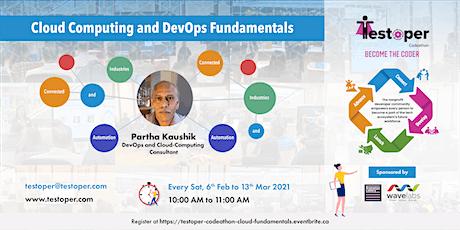 Codeathon -Cloud Computing and DevOps Fundamentals starts on 06 Feb 2021 tickets