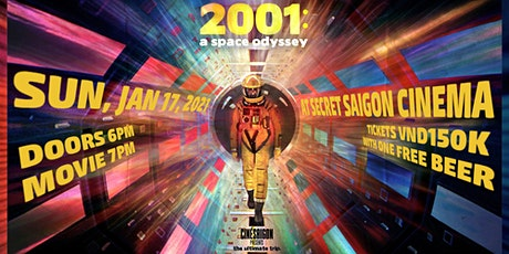 CinéSaigon presents: 2001: A SPACE ODYSSEY (1968) tickets