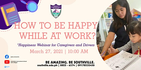 How to be Happy at Work | Webinar for Caregivers and Drivers tickets