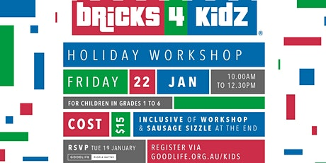 Bricks 4 Kidz tickets