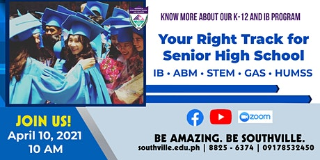 Your Right Track for Senior High School | Open to G 10 Students and Parents biglietti
