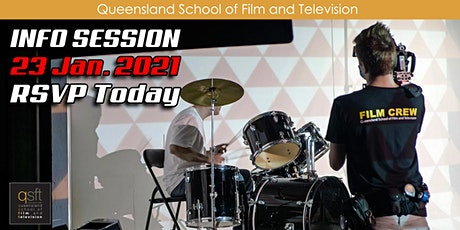 QSFT MEDIA & FILM SCHOOL CAREER INFO SESSION - Saturday, 23rd January 2021 tickets