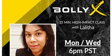 BollyX HIIT Cardio with Lalitha tickets