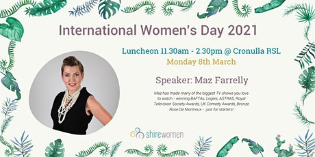 International Women's Day 2021 with speaker Maz Farrelly tickets
