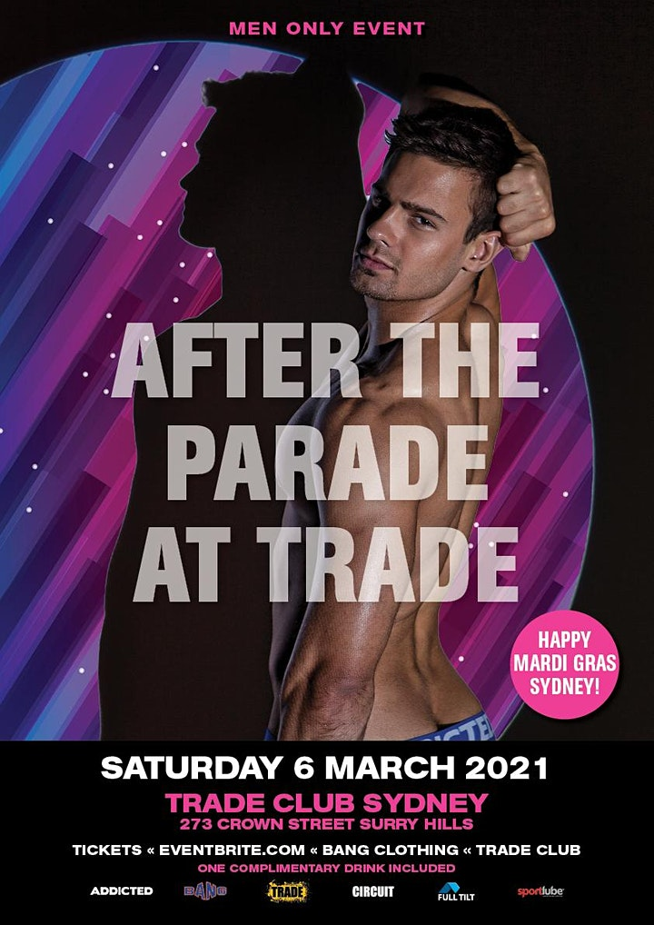 AFTER THE  MARDI GRAS PARADE AT TRADE image