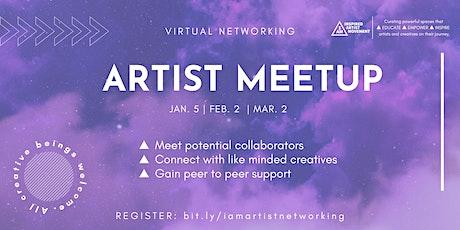 Virtual Networking Artist Meetup tickets
