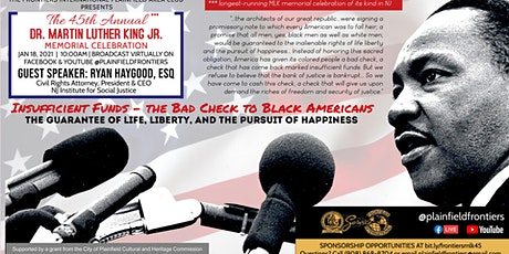 45TH ANNUAL DR MLK JR MEMORIAL CELEBRATION tickets