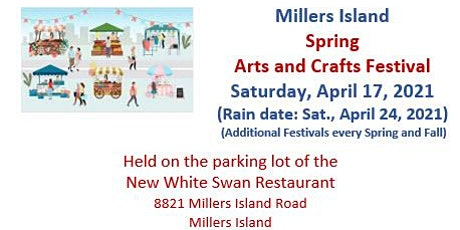 Millers Island Spring Arts and Crafts Festival tickets