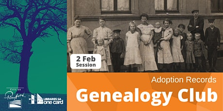 Genealogy Club: Adoption Records tickets