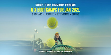 3-hour Tennis Boot Camp For Adult Beginners tickets