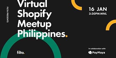 Virtual Shopify Philippines Meetup tickets