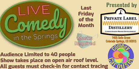 Live Comedy in the Springs tickets