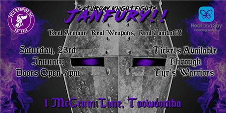 Saturday Knight Fights: Jan-Fury tickets