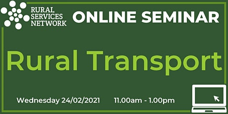 RSN Seminar: Rural Transport tickets