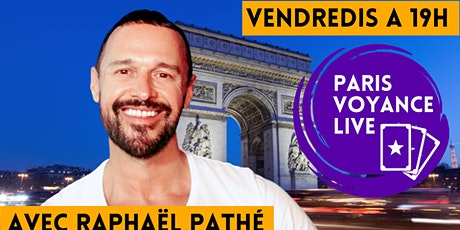 PARIS VOYANCE LIVE -  Avec Raphaël Pathé, RAPHAEL THE WORLDS MEDIUM tickets