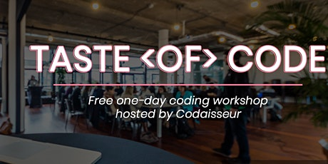 Taste of Code | Free Online Workshop tickets
