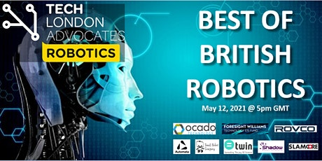 "TLA Robotics webinar: ""Best of British Robotics"" tickets"