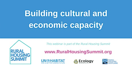 Building cultural and economic capacity tickets