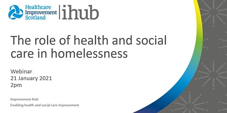 The Role of Health and Social Care in Homelessness tickets