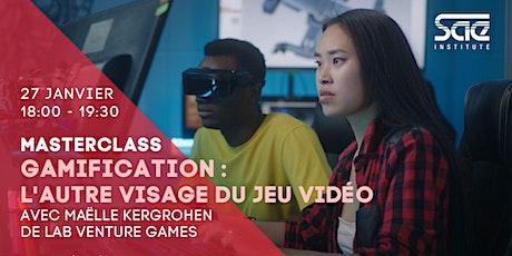"""Masterclass : """"Gamification, l'autre visage du jeu vidéo"""" tickets"""