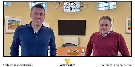 Yellow Cubes  Event - Vinden en binden van talent tickets