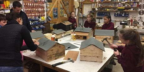 Parent and child - Make a Hedgehog House, age 7+ tickets