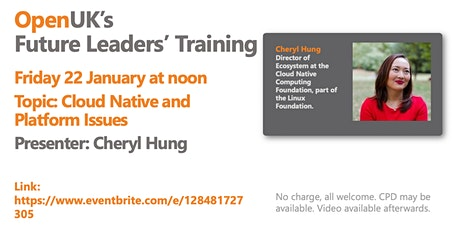 Cloud Native and Platform Issues - Future Leaders Training tickets