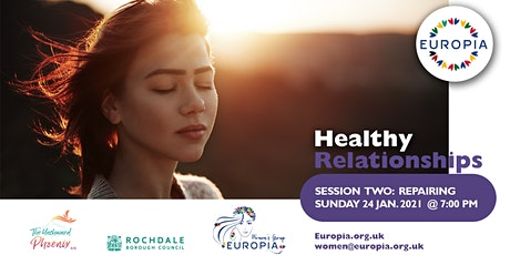 Healthy Relationships - Session TWO:  Repairing tickets