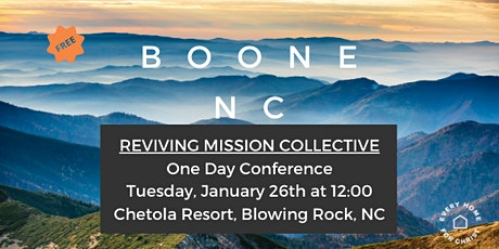 FREE Boone, NC One Day Conference - Jan 26 tickets