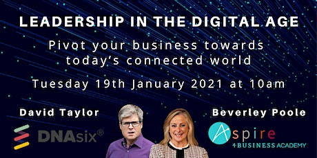 Leadership in the Digital Age - Pivot your Business in the digital world tickets
