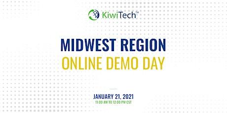 KiwiTech's Online Demo Day - Midwest Region tickets