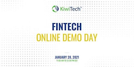 KiwiTech's Online Demo Day - FinTech tickets