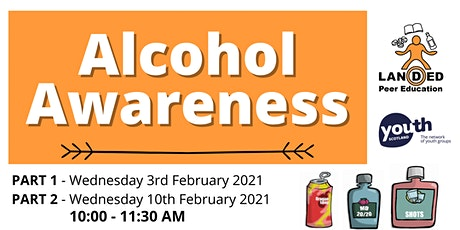 Alcohol Awareness Training - 3rd & 10th February 2021 tickets