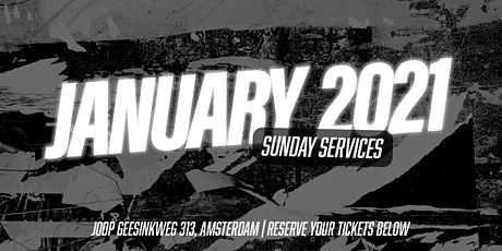 Sundays at the River Amsterdam - January 2021 billets