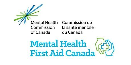 Mental Health First Aid Standard - Virtual tickets