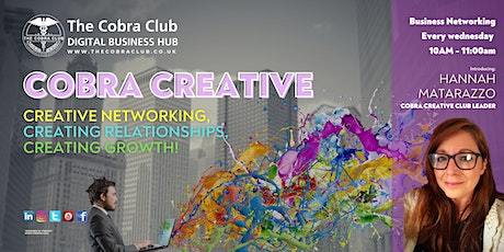 Cobra Creative - Business Networking Event - Gloucestershire, Cotswolds tickets
