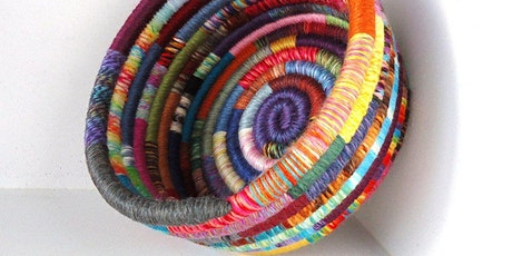 Coiled Baskets From Recycled Materials tickets