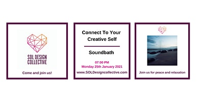 Connect To Your Creative Self – Soundbath