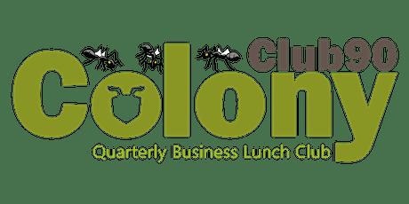Club90 Business Lunch Club - Apr 2021 tickets